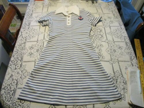 CAROLE KING BRAND VINTAGE 1950's SAILOR DRESS - WO