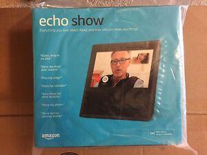 Amazon-Echo-Show-Alexa-Voice-Control-WiFi-Smart-Screen-New-Sealed-Box-Black