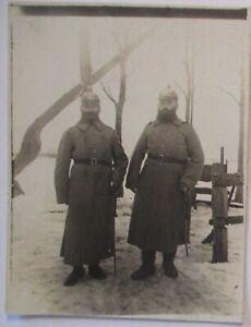 Deutsche-Soldaten-mit-Artillerie-Pickelhaube-Foto-60029