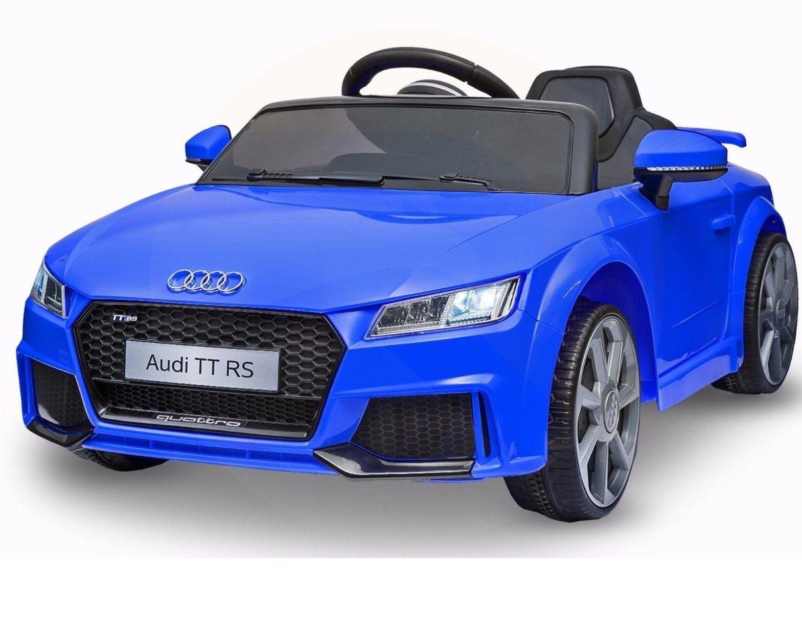 Sur Tt V Licensed Kids Parental Remote Titre D'origine Jouet Le Voiture Afficher Détails Officiel Audi 12 Electric Ride Rs jL354AR