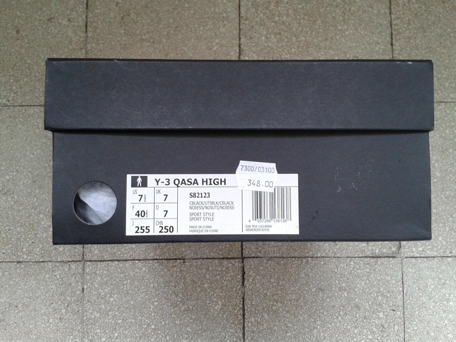 1bbb56e17 ... Adidas Y-3 Qasa High Primeknit Yamamoto S82123 nuove mai indossate  indossate indossate a0bd88