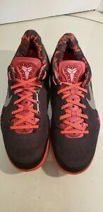 Pp Taglia 8 Nike Kobe Rosso Argento Nero 613959 System 5a 8 002 IbYf7g6yv