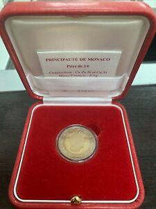 Monaco Coffret officiel BE 2€ Euro 2010 Albert II