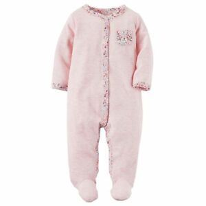 Carters Striped Babydoll Grey-6 Months Baby