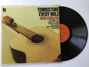 DICK-CURLESS-original-1965-MINT-LP-Tower-TOMBSTONE-EVERY-MILE-bonus-CD-TESTED