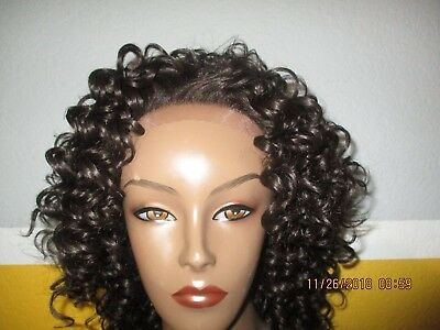 NWT Outre short curly Afro lace front wig
