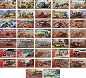 Airfix-1-76-Military-Vehicle-Tank-New-Plastic-Model-Kit-1-76-1-72-1-72