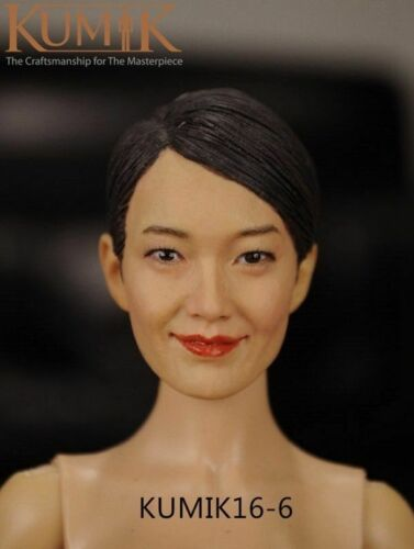 1//6 Scale Female headsculpt-KUMIK femme asiatique