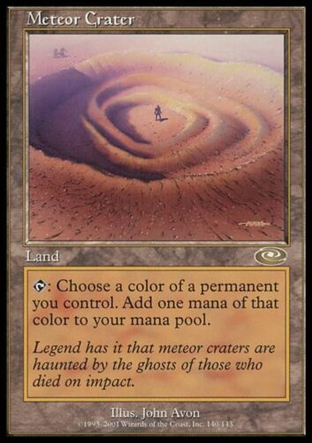 METEOR CRATER Magic PLS Mint CRATERE METEORICO