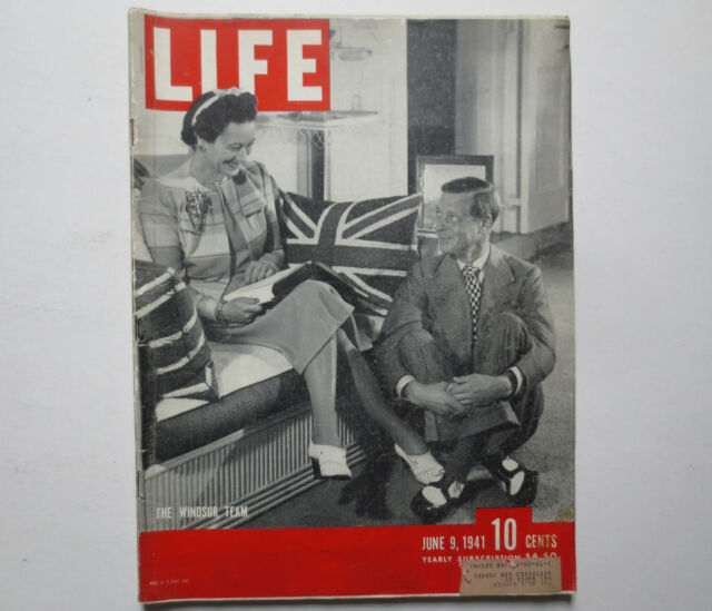 Life Magazine- The Windsor Team- June 9, 1941