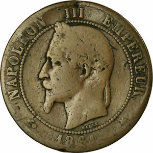458347-Coin-France-Napoleon-III-10-Centimes-1861-Paris-VG-8-10-KM
