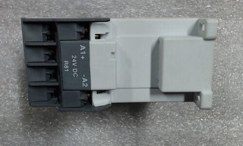 60 day warranty ABB AL9 3P Contactor AL9R-30-10-81 24VDC// 1NO Series A