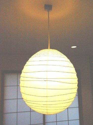 Isamu Noguchi Akari 40dl Pendant Lamp Washi Shade Only Handcraft Anese Light