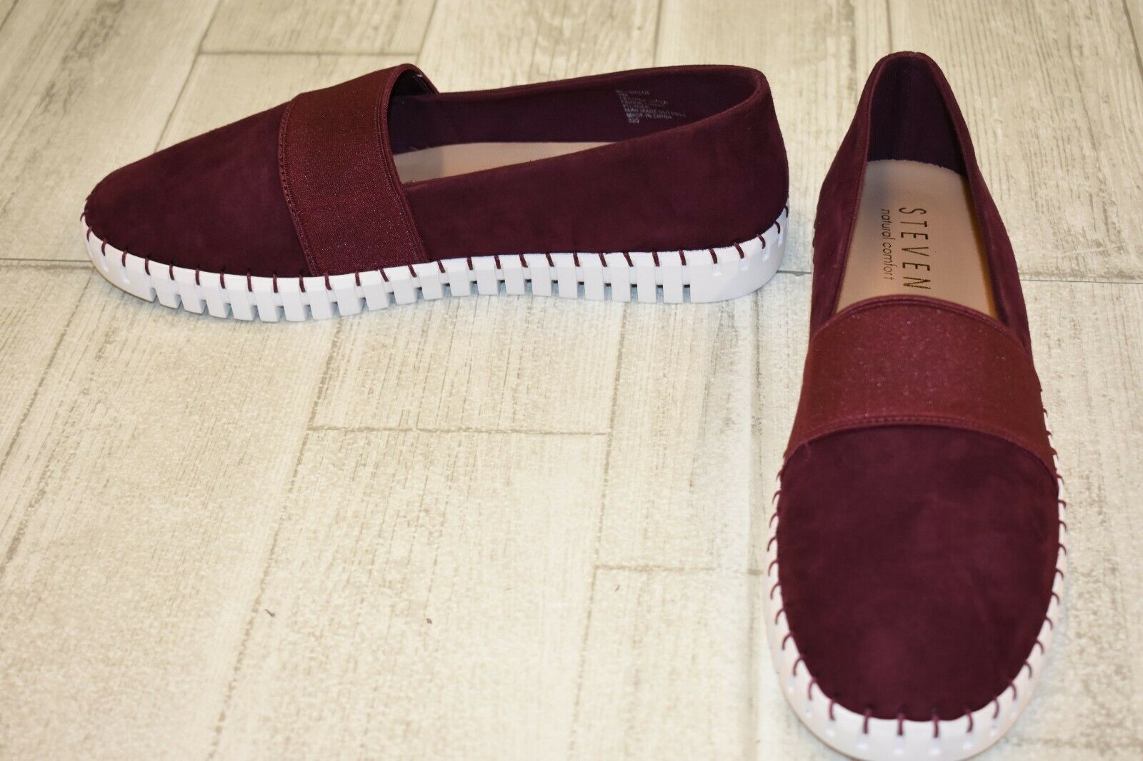 a95d760cff7 Steven by Steve Madden Nc-sugar Slip on Sneaker - Women's Size 9m Burgundy