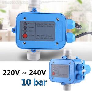 Automatik Pumpensteuerung Pumpen Druckschalter Hauswasserwerk Druckregler 1,1 kW