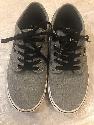 Vans Sneakers Off The Wall Herren Größe 8 Grau Canvas Low Top Skate Schuhe | eBay