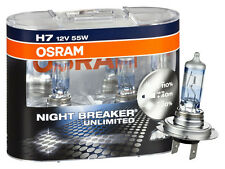 OSRAM Night Breaker Unlimited H7 64210NBU +110%  Duo Set 12V 55W
