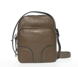LOUIS-VUITTON-Siwa-Trotteur-Taupe-Brown-Grained-Leather-Crossbody-Messenger-Bag