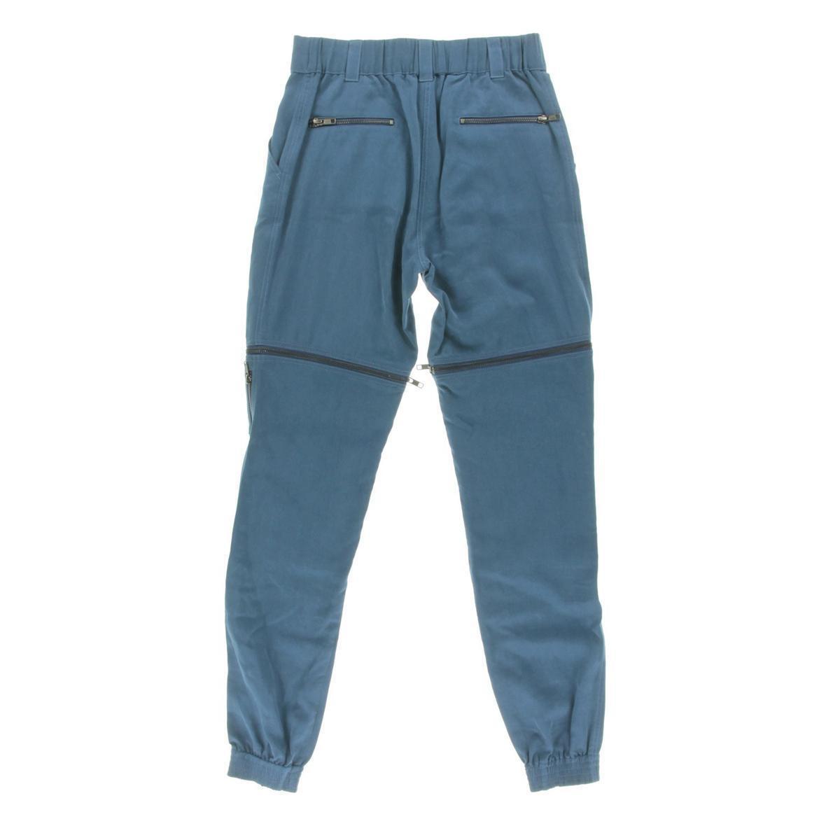 ac1974e4ed ... Catherine Malandrino 4531 Womens Womens Womens bluee Twill 2-In-1  Casual Pants 4