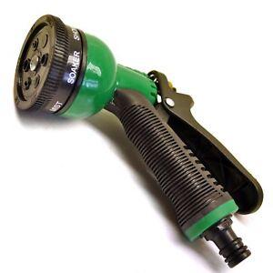 Travailleur Tuyau Flexible Pistolet Arrosage 6 Fonctions Buse / Grip Antidérapant En Caoutc