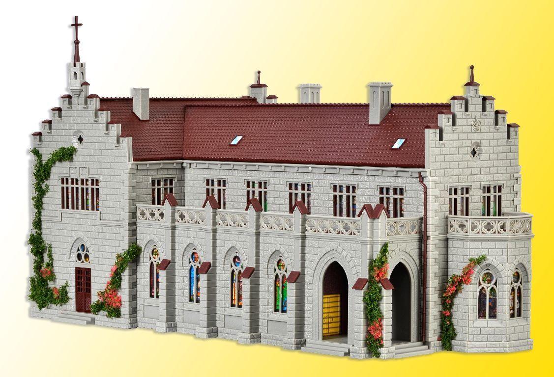 VOLLMER HO 43860 h0 monastero allegato con cimitero E ACCESSORI KIT PRODOTTO NUOVO