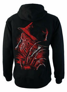 A Nightmare on Elm Street Zip Up Back Print Hoodie