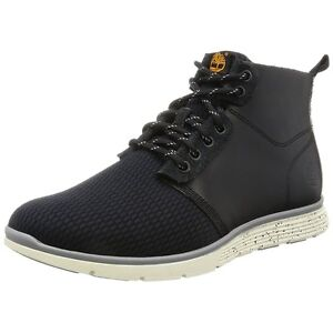 Image is loading Mens-Timberland-Chukka-Boots-Killington-Black-Leather-and- f19ec0ba7a5