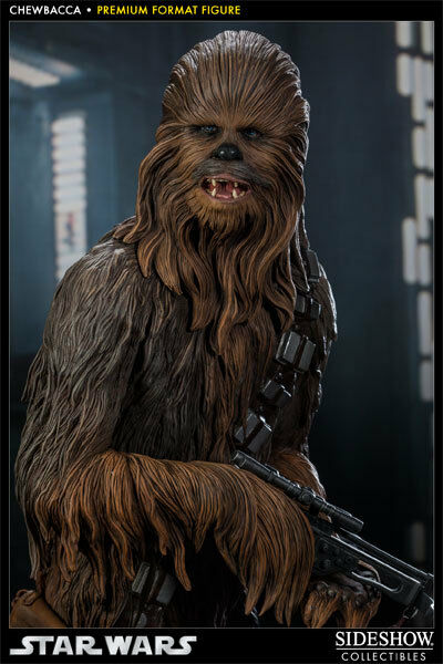 Sideshow Exclusive Star Wars Chewbacca Premium Format Statue NIB FREE SHIP 1st