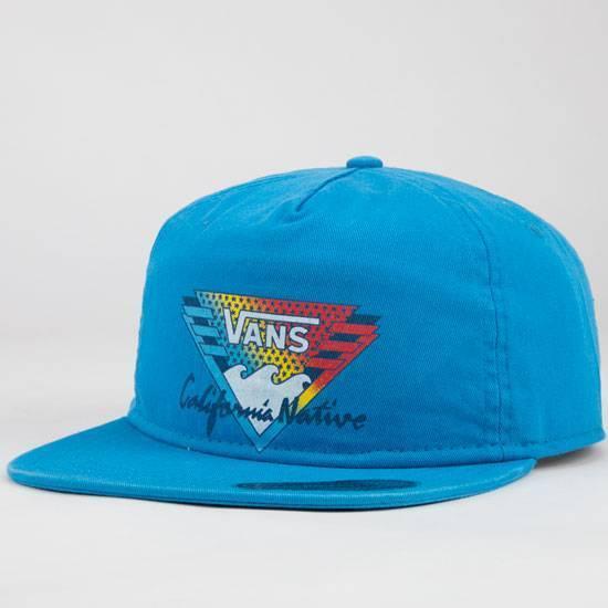 Buy VANS California Men s Cap Angles Swedish Vv4cce7 Blue online  1e238ec18f4