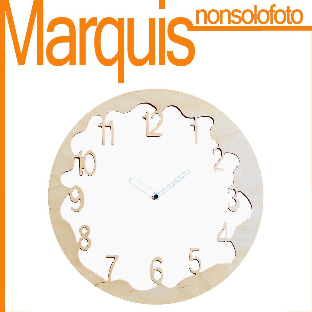 Garanzia del prezzo al 100% orologio da parete Art. 046  Ombre  bianco 9010 9010 9010 Pirondini Marquis  ordina ora i prezzi più bassi