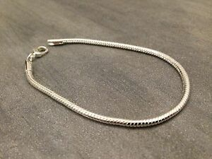 bracelet argent fin homme