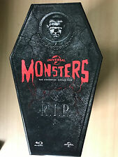 UNIVERSAL MONSTERS ESSENTIAL COLLECTION ~ Classic Horror | UK Blu-ray Coffin Set