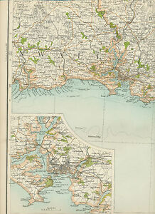 2310-1898-MAP-of-Royal-Atlas-England-amp-Wales-Pl-50-PLYMOUTH-Devonshire