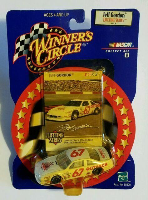 Jeff Gordon lifetime series winners circle