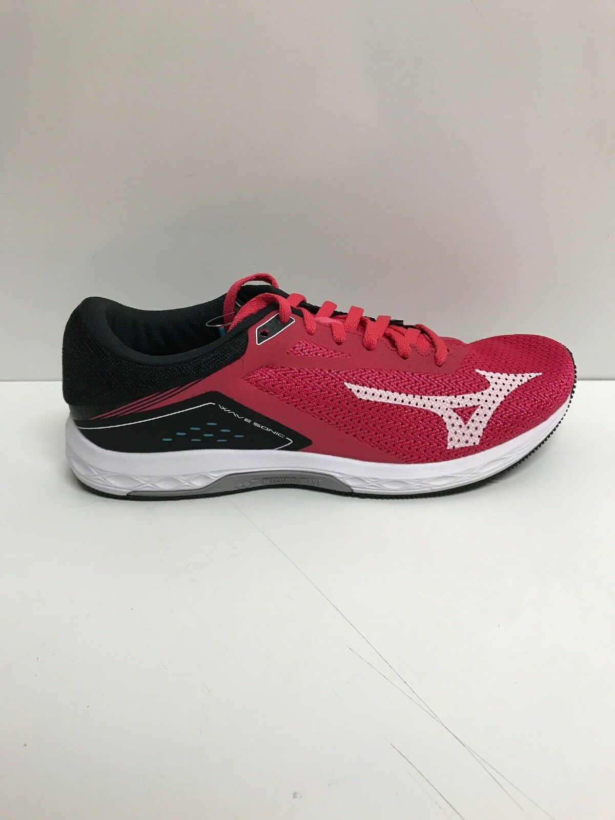 New Women's Mizuno Wave Sonic Pink Black Trim Running shoes shoes shoes Size 8 EU 38.5 2f9058