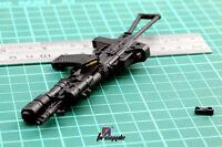 "1/6 Scale 4D Assembled Gun Model AK74 Weapon Model For 12"" Soldier Action Figure"