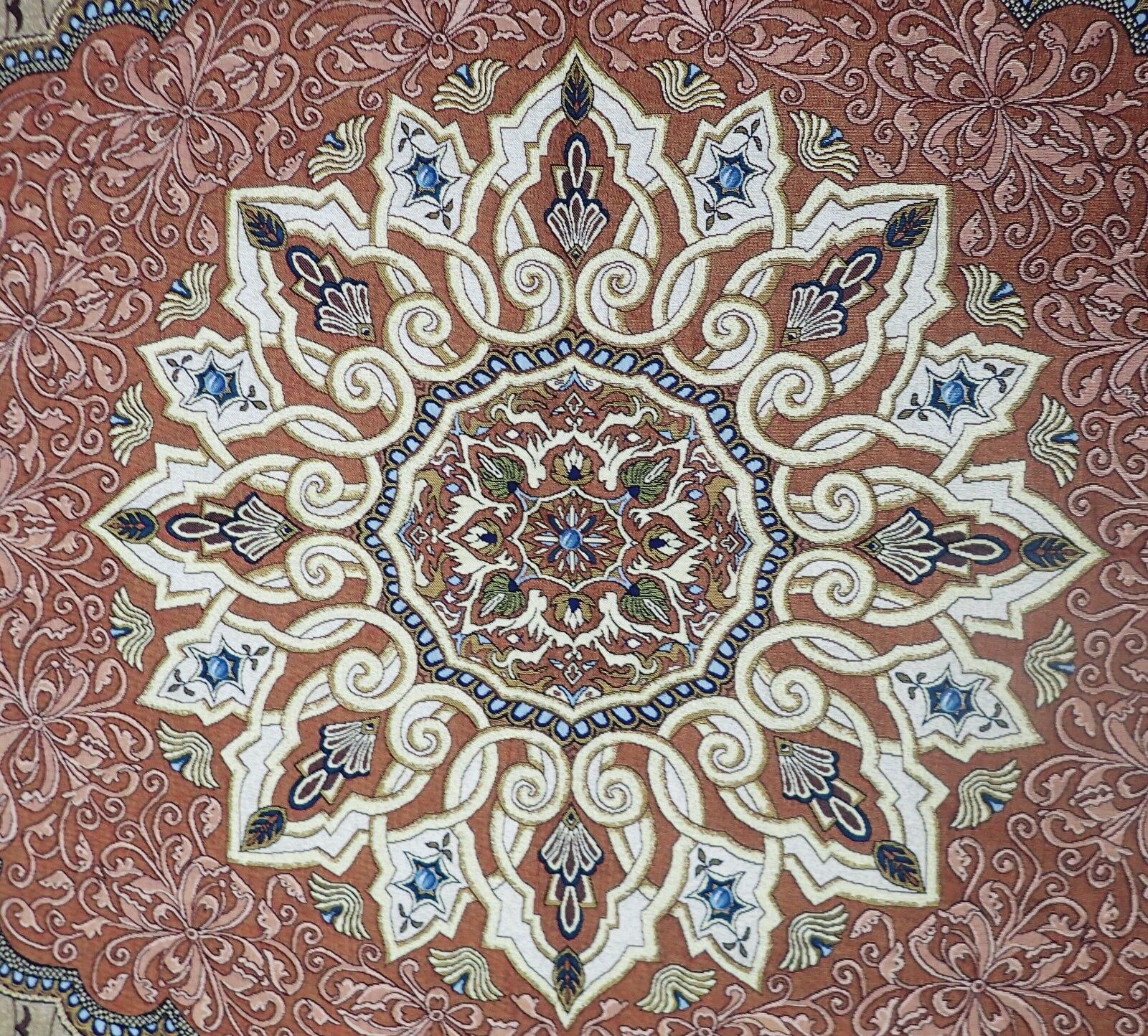 63.5x50 Wall Hanging Woven Art Tapestry Tapestry Tapestry Floral Baroque Modern 8205d4