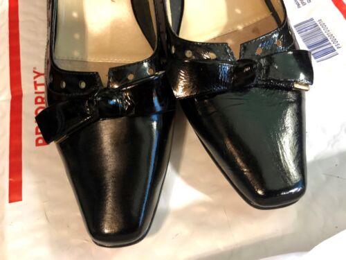 Shoes noir cuir talon Chaussures Hommerson devant noeud Ros Hommerson Bow 2 Leather Black Ros 2 de Front Tqz1f