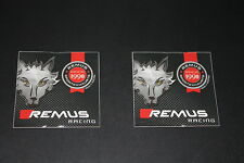 +012 escape Remus exhaust Pott Race Pegatina Sticker decal autocollant pickerl
