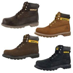 Détails sur Cat caterpillar Colorado Bottes Chaussures Hommes 6 Inch Cuir Bottes Bottines