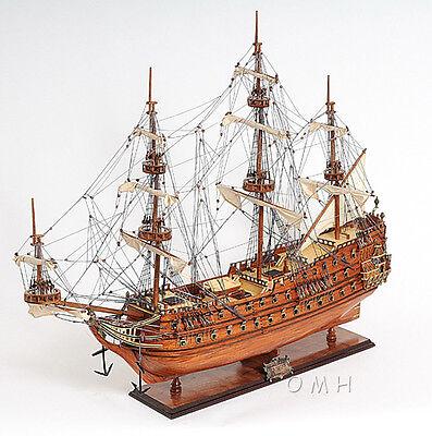 """Dutch De Zeven Provincien Wooden Tall Ship Model 36"""" Boat New"""