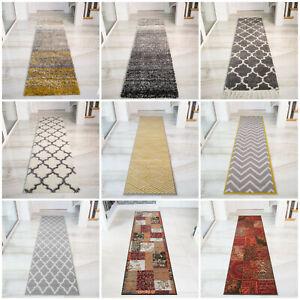 Geometric Hallway Runner Rugs
