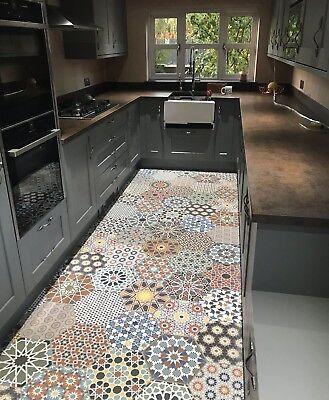 Istanbul Hexagon Multi Colour Patchwork