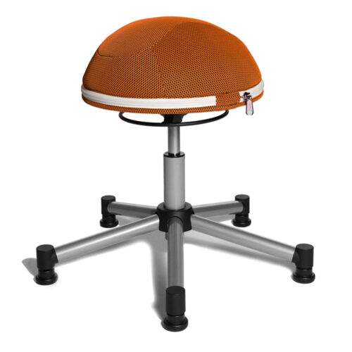 Drehhocker Bürostuhl Drehstuhl Bürostuhl Topstar Sitness Half Ball orange B-Ware