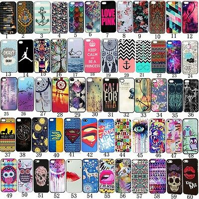 New Soft TPU Design Patterned Back Case Cover For iPhone 6 Plus / 6s Plus 5.5""