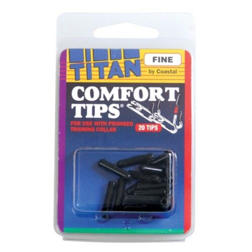 VINYL REPLACEMENT RUBBER COMFORT TIPS Cover FOR DOG CHOKE PRONG Pinch COLLAR