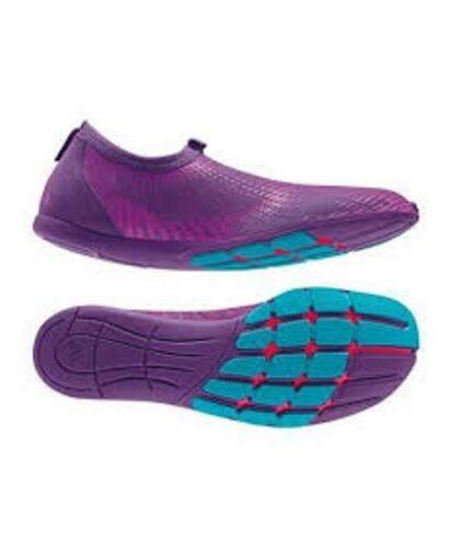 adidas adiPure Adapt Womens Puple Light Barefoot Running Shoes RARE