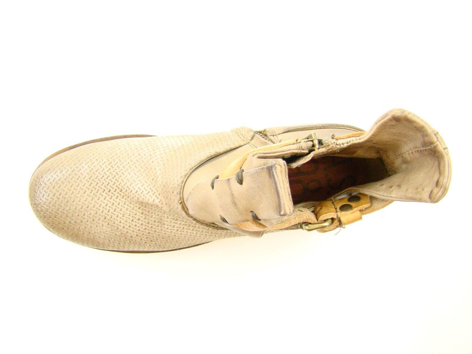 6621 A.S.98 Stiefel Schnallen 36 NEU Damen Lederstiefel Leder Schnallen Stiefel Stiefel Stiefeletten c790e5