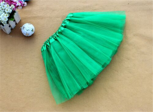 Ballet Tutu Princess Dress Up Dance Costume Party Girls Toddler Kids Skirt