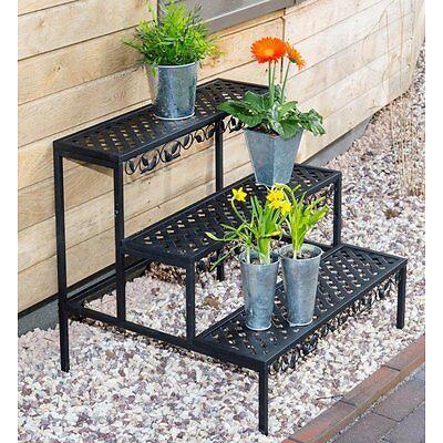 Estantería Plantas flores Banco de Jardín